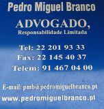 Advogado Pedro M Branco Bragança