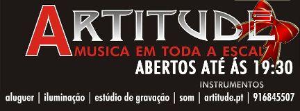 Artitude - A tua Loja de instrumentos Musicais Torres Novas