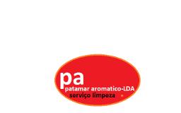 Patamar-Aromático unipessoal LDA Odivelas